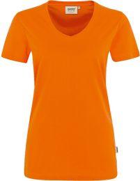 Damen V-Shirt Mikralinar