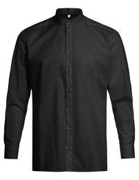 Herren-Stehkragenhemd